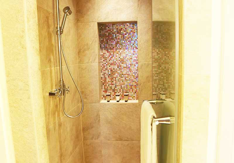 アトランティスザパーム客室のシャワールーム