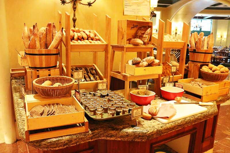 Kaleidoscope Restaurantのパン