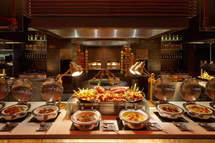 サフランレストランの色々な料理