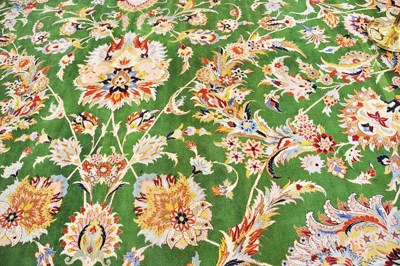 シェイクザイードグランドモスクのペルシャ絨毯