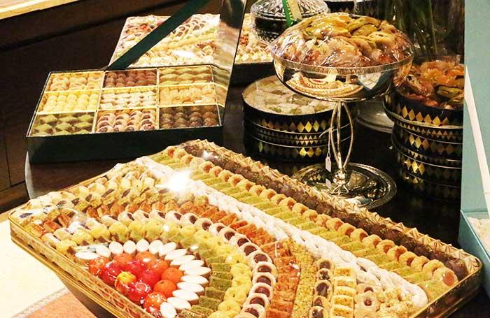 ドバイの伝統焼き菓子店ヴィヴェル・パティスリー