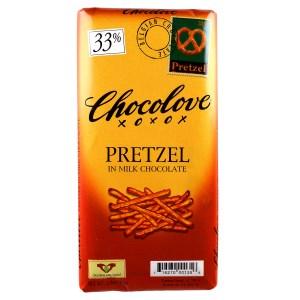 チョコラブのプレッツェルチョコレート