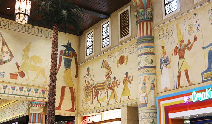 イブン・バットゥータ・モールのエジプトコート