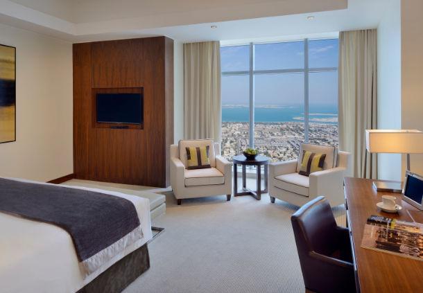 JWマリオット・マーキス・ホテルの客室