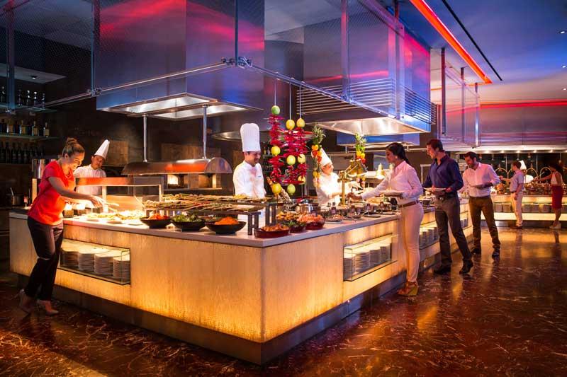 アトランティスザパームのアジアンビュッフェSaffron Restaurant