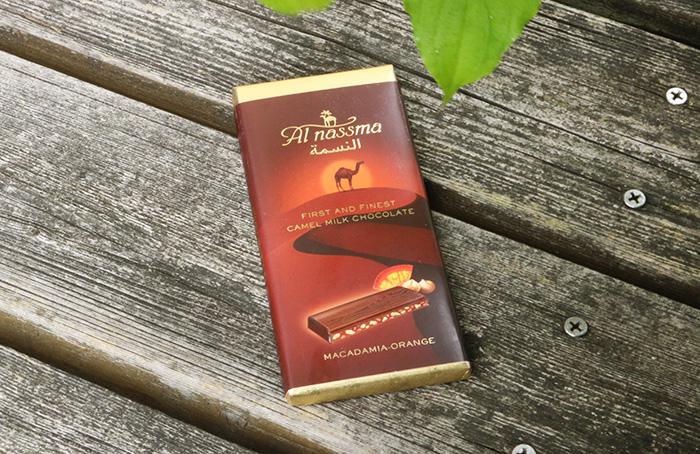 アルナスマのラクダミルクチョコレート