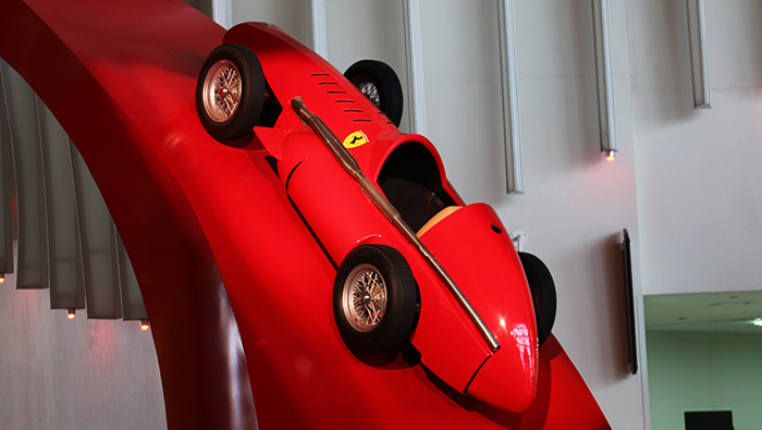 フェラーリワールドの展示車