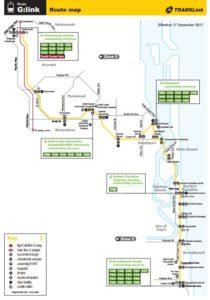 トラムルートマップ