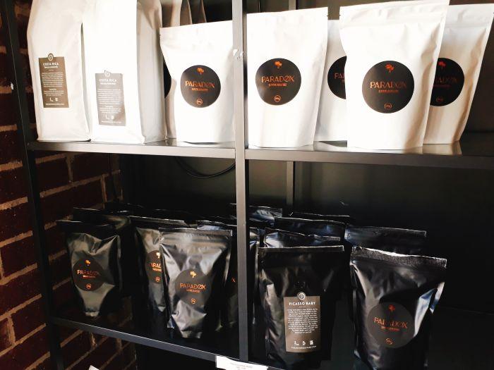 パラドックスコーヒーのコーヒー豆