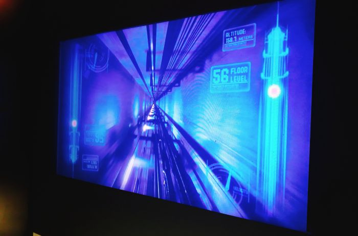 スカイポイント展望台のエレベーター