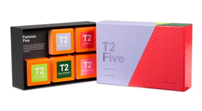 T2フェイマスファイブギフトボックス
