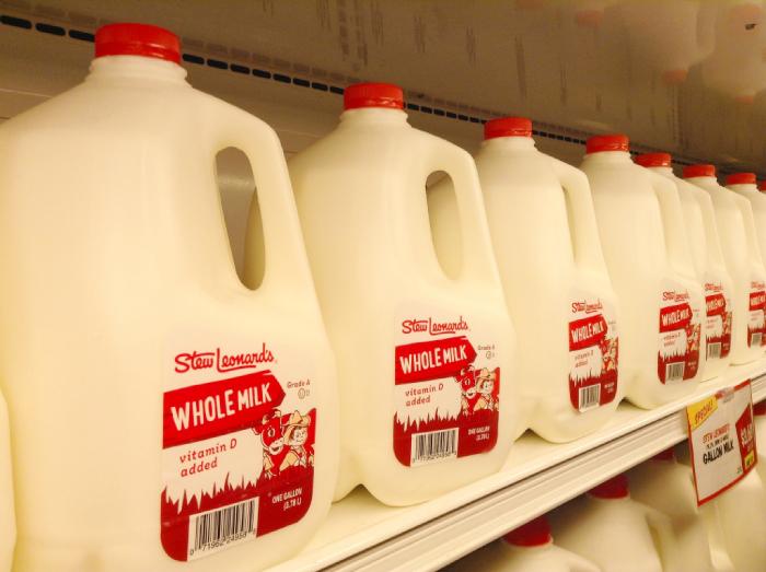 アメリカの牛乳